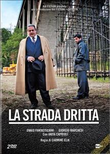 La strada dritta (2 DVD) di Carmine Elia - DVD
