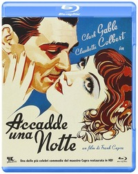 Cover Dvd Accadde una notte (Blu-ray)