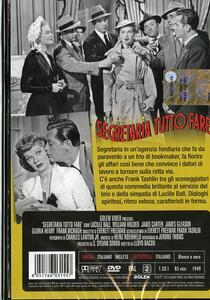 Segretaria tutto fare di Lloyd Bacon - DVD - 2