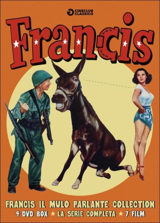 Francis il mulo parlante (4 DVD) di Arthur Lubin