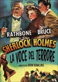 Locandina Sherlock Holmes e la voce del terrore