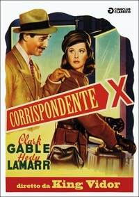Cover Dvd Corrispondente X (DVD)