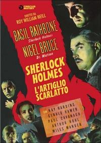 Locandina Sherlock Holmes e l'artiglio scarlatto