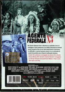 Agente federale X 3 di Louis King - DVD - 2