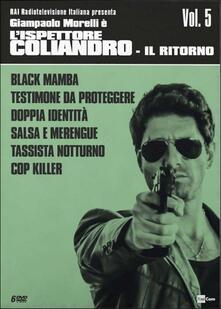 L' ispettore Coliandro. Vol. 5. Il ritorno (6 DVD) di Manetti Bros. - DVD