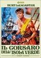 Cover Dvd DVD Il corsaro dell'isola verde