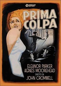 Cover Dvd Prima colpa