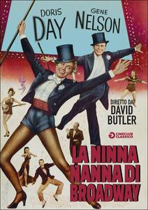 La ninna nanna di Broadway di David Butler - DVD