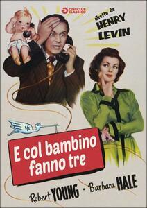 E col bambino fanno tre di Henry Levin - DVD