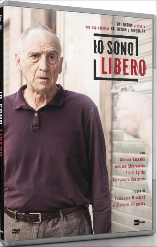 Io sono libero di Francesco Miccichè,Giovanni Filippetto - DVD