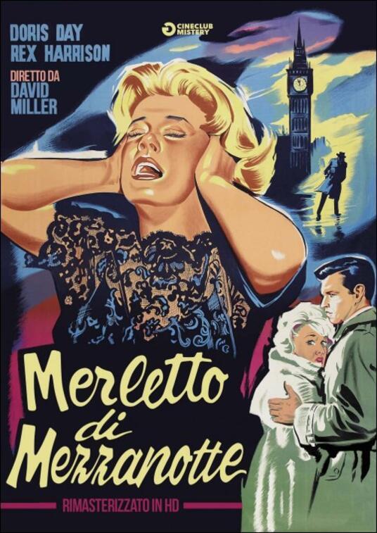 Merletto di mezzanotte<span>.</span> Rimasterizzato in HD di David Miller - DVD