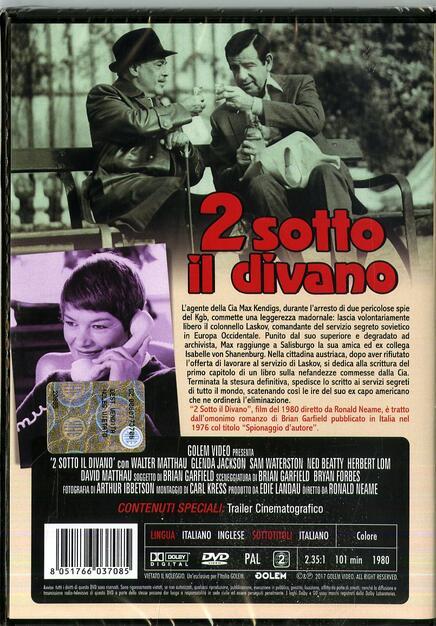 Due Sotto Il Divano.Due Sotto Il Divano Dvd Dvd Film Di Ronald Neame Commedia Ibs