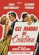 Cover Dvd Gli amori di Cristina