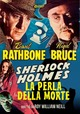 Cover Dvd Sherlock Holmes e la perla della morte