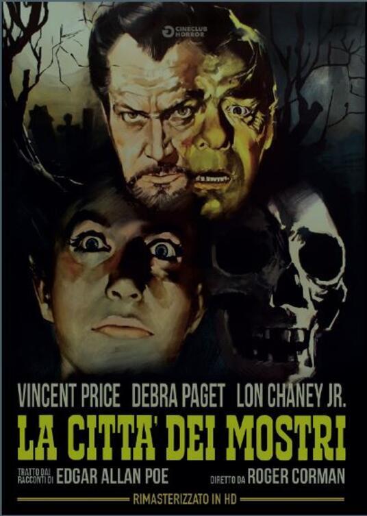 La città dei mostri. Rimasterizzato in HD (DVD) di Roger Corman - DVD