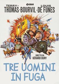 Cover Dvd Tre uomini in fuga (DVD)