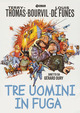 Cover Dvd DVD Tre uomini in fuga