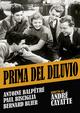 Cover Dvd DVD Prima del diluvio