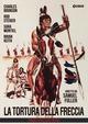 Cover Dvd DVD La tortura della freccia