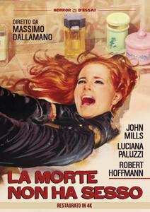 La morte non ha sesso. Restaurato in 4K (DVD) di Massimo Dallamano - DVD