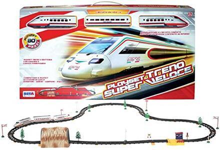 Treno Freccia Italiana 80 Pezzi - 2
