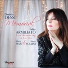 Memorial. Concerto in onore di Daniela Dessì - CD Audio di Charles Gounod,Pietro Mascagni,Giovanni Battista Pergolesi,Franz Schubert,Fabio Armiliato