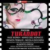 CD Turandot Giacomo Puccini Mario Del Monaco Renata Tebaldi