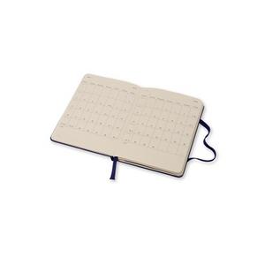 Cartoleria Moleskine 2016 12 mesi Planner Weekly Notebook Pocket Hard Royal Blue Moleskine 3