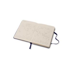 Cartoleria Moleskine 2016 12 mesi Planner Weekly Notebook Pocket Hard Royal Blue Moleskine 4