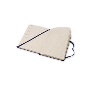Cartoleria Moleskine 2016 12 mesi Planner Weekly Notebook Pocket Hard Royal Blue Moleskine 5