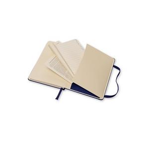 Cartoleria Moleskine 2016 12 mesi Planner Weekly Notebook Pocket Hard Royal Blue Moleskine 6