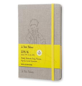 Moleskine 18 mesi Limited Edition Planner Le Petit Prince settimanale Notebook Large  Hard Canvas