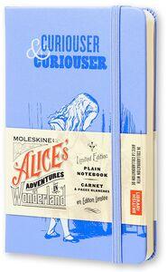 Cartoleria Taccuino Moleskine pocket a pagine bianche. Alice in Wonderland copertina rigida Moleskine 0