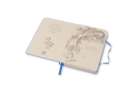 Cartoleria Taccuino Moleskine pocket a pagine bianche. Alice in Wonderland copertina rigida Moleskine 2