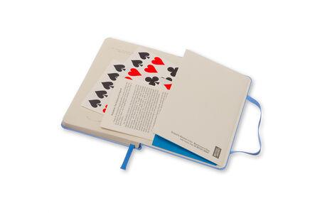 Cartoleria Taccuino Moleskine pocket a pagine bianche. Alice in Wonderland copertina rigida Moleskine 4