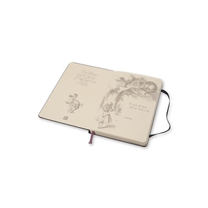 Cartoleria Taccuino Moleskine large a pagine bianche. Alice in Wonderland copertina rigida Moleskine 1