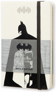 Cartoleria Taccuino Moleskine pocket a righe. Batman copertina rigida Moleskine 0