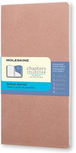 Cartoleria Taccuino Chapters Moleskine slim pocket puntinato Moleskine