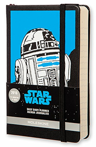 Cartoleria Moleskine 2016 12 mesi Limited Edition Planner Star Wars Daily Pocket Moleskine 0