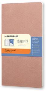 Cartoleria Taccuino Chapters Moleskine slim pocket a righe Moleskine
