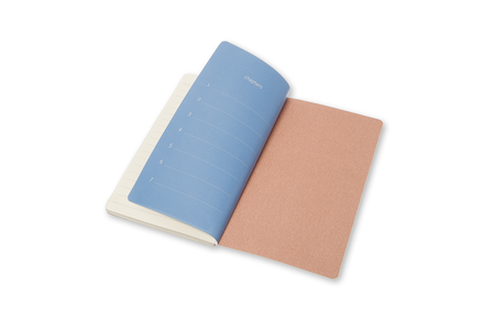 Cartoleria Taccuino Chapters Moleskine slim pocket a righe Moleskine 3