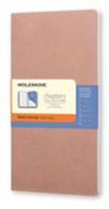 Cartoleria Taccuino Chapters Moleskine slim medium a righe Moleskine