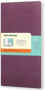 Taccuino Chapters Moleskine slim medium a righe