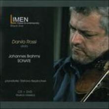Sonate - CD Audio + DVD di Johannes Brahms,Danilo Rossi