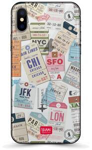 Cover per iPhone X Legami. Luggage Tag