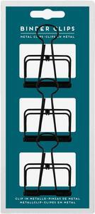 Cartoleria Clip Legami Binder Clips large. Set 3 pezzi Legami