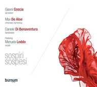 CD Sospiri sospesi Gianni Coscia Daniele Di Bonaventura Max De Aloe