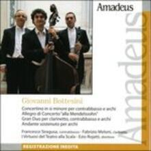 Opere per contrabbasso e orchestra - CD Audio di Giovanni Bottesini