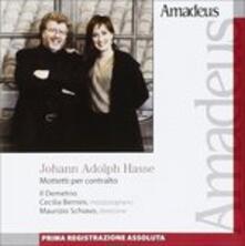Mottetti per contralto - CD Audio di Johann Adolph Hasse