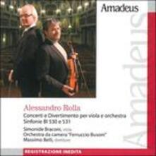 Concerti e divertimento - CD Audio di Alessandro Rolla